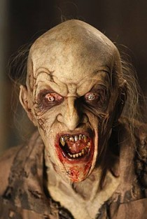 Vampire monster from NBC anthology series Fear Itself episode, The Sacrifice.