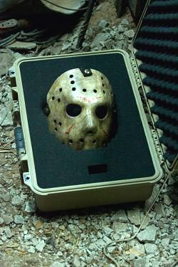 Mask and footage from Marcus Nipel-directed Friday the 13th remake