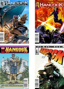 Hancock comic book covers