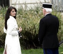 Picture of Bollywood star Aishwarya Rai and Steve Martin in The Pink Panther 2