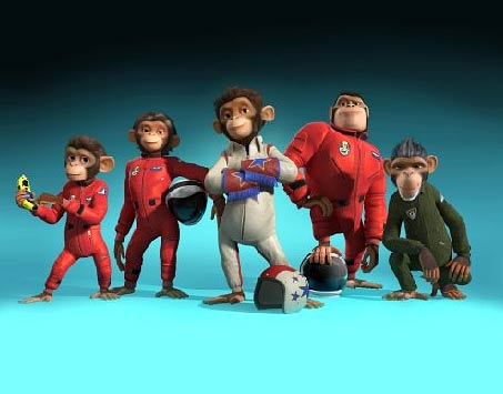 Play the Space Chimps online game right here