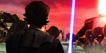 Scene from Star Wars The Clone Wars