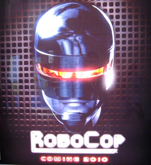Teaser poster for Robocop remake hits NYC