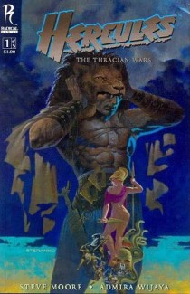 Hercules The Thracian Wars comic cover