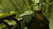 Deadshot in a scene from Batman: Gotham Knight