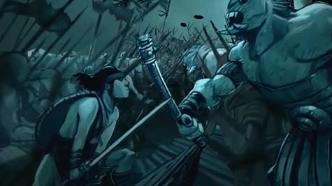 Hellboy 2 The Golden Army animated origin story online
