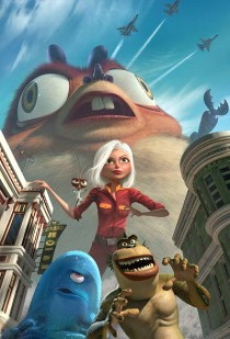 Scene from Monsters Vs. Aliens movie
