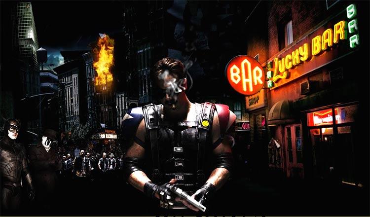 A visionary noir trailer for Watchmen plus a kick ass website