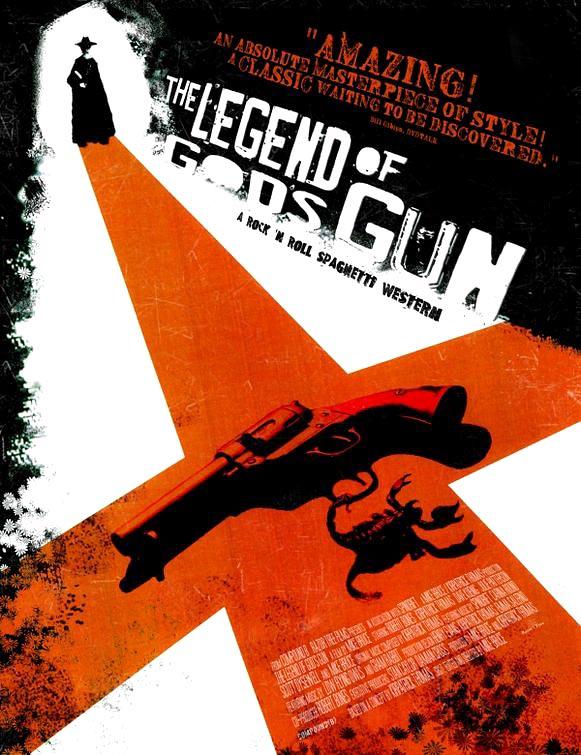 Pulpy trailer for grindhouse western film Legend of God's Gun