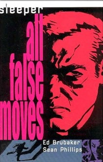 Cover from the second story arc of Sleeper called All False Moves