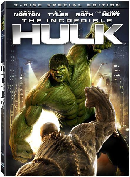 The Hulk to smash onto Blu-ray globally