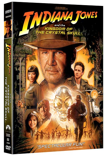 Indiana Jones and the Kingdom of the Crystal Skull comes to DVD in October