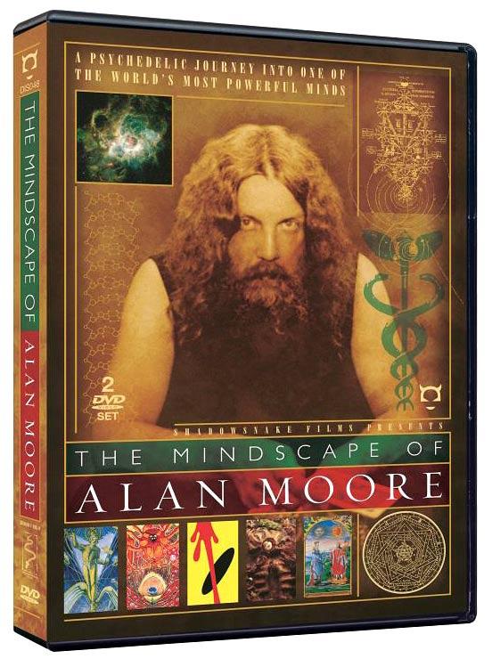 Award-winning Alan Moore documentary coming to DVD