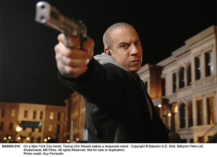 Vin Diesel shows his directing chops, plus Babylon A.D. film details