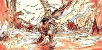 Concept art for Conan Red Nails by Michael Kaluta