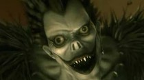 Ryuk the rogue death god from Death Note