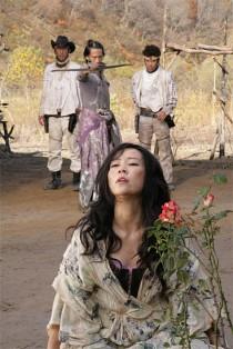 Scene from Takashi Miike film Sukiyaki Western Django