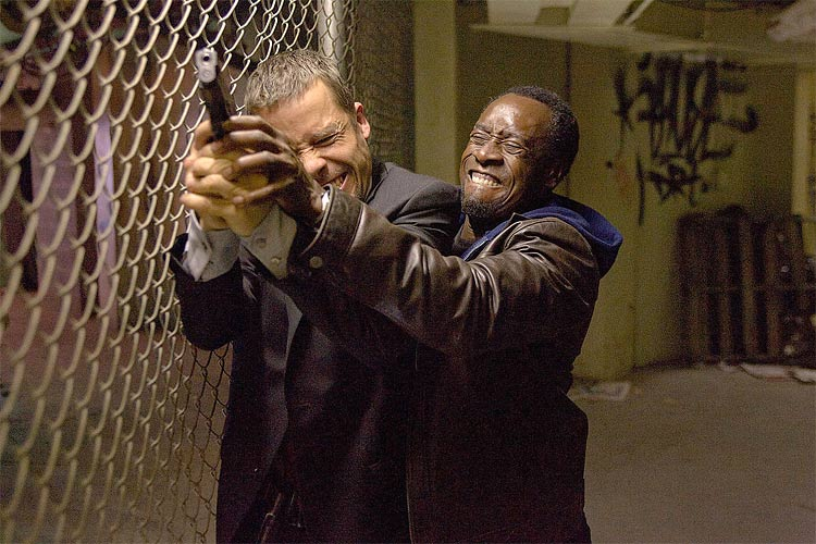Three tense scenes from Don Cheadle's upcoming spy thriller