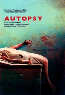Autopsy teaser poster