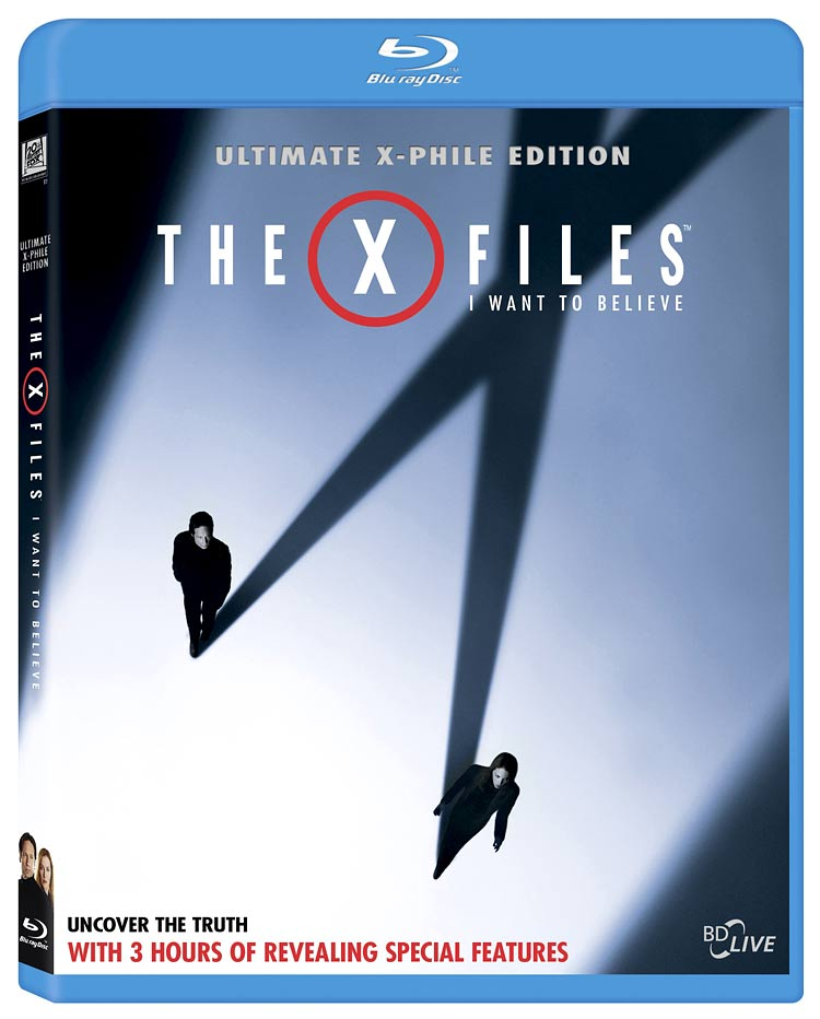 The X-Files: I Want To Believe Blu-ray to have web enhanced features