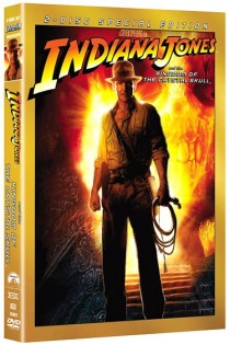 Indiana Jones and the Kingdom of the Crystal Skull final DVD cover