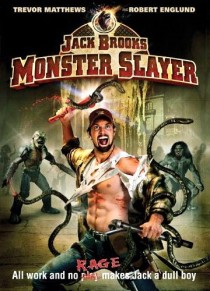 Jack Brooks Monster Slayer DVD cover