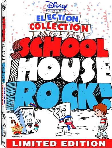 Schoolhouse Rock on DVD tomorrow