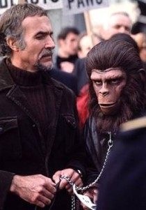 Ricardo Montalban and Roddy McDowall as Armando and Caesar