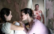 Scene from Steven Sheil horror Mum and Dad