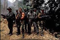 Scene from the 1987 John McTiernan classic Predator
