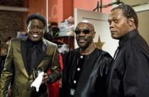 Bernie Mac, Isaac hayes and Samuel L. Jackson in Soul Men