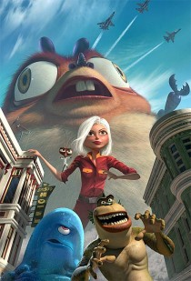 Monsters vs. Aliens going mobile AND 3D in 2009