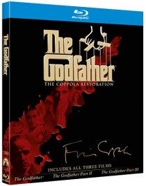 The Godfather The Coppola Restoration Blu-ray cover