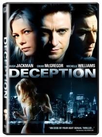 Deception DVD cover