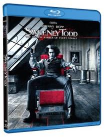 Sweeney Todd The Demon Barber of Fleet Street Blu-ray cover