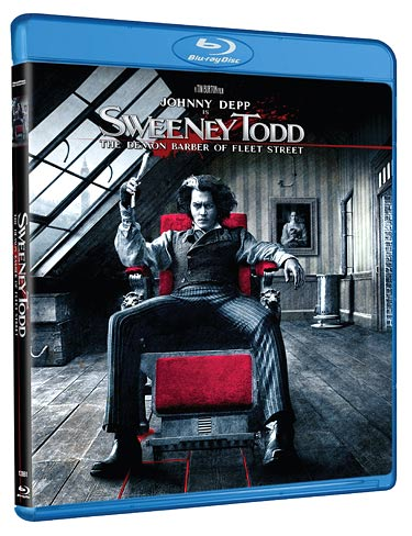 Sweeney Todd: The Demon Barber of Fleet Street coming on Blu-ray
