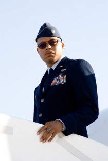 Terrence Howard as Jim Rhodes in Iron Man
