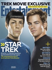 Zachary Quinto and Chris Pine channel Spock and Captain Kirk