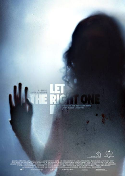 Win signed poster AND bestselling vampire novel that inspired Let the Right One In