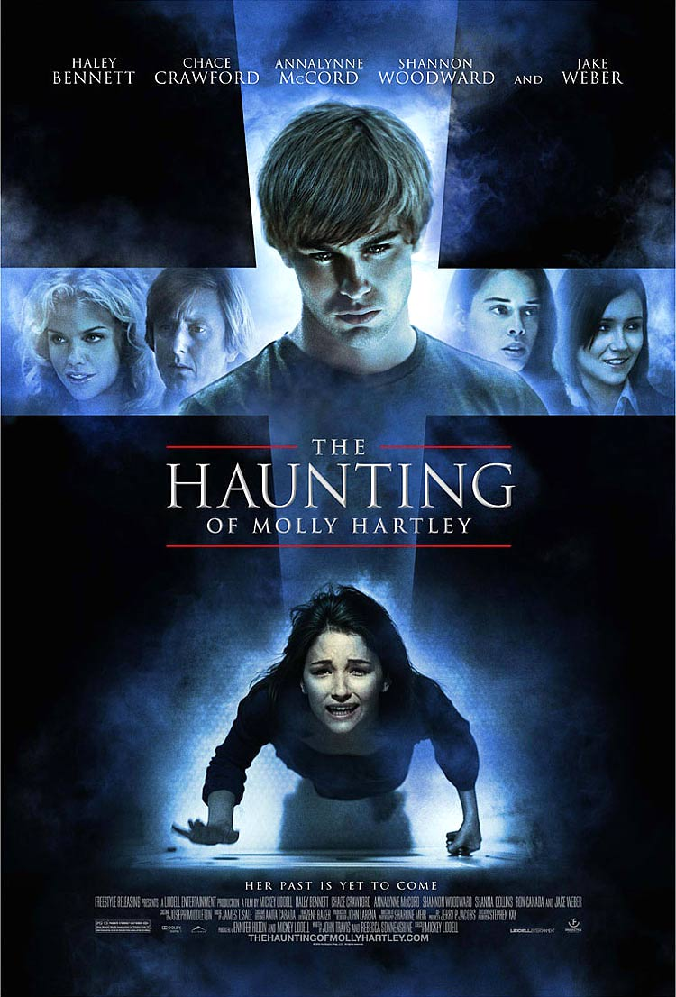 Win a signed movie poster and cool Haunting of Molly Hartley Halloween swag