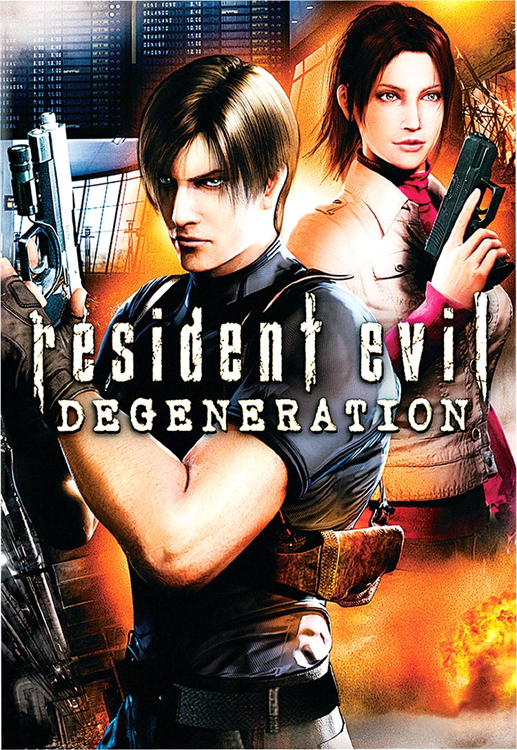 Details on CG-animated feature Resident Evil: Degeneration
