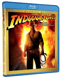 Indiana Jones and the Kingdom of the Crystal Skull Blu-ray disc