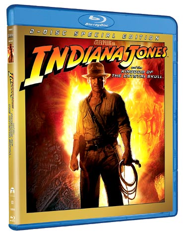Indiana Jones and the Kingdom of the Crystal Skull Blu-ray disc review