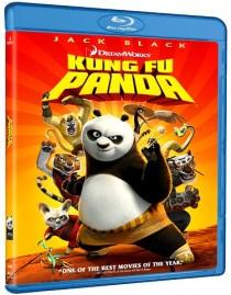 Kung Fu Panda Blu Ray disc cover