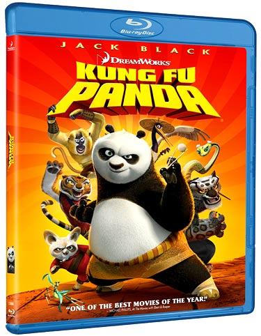 Kung Fu Panda Blu Ray review