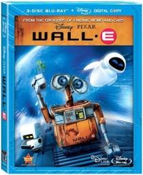 Wall E Blu ray cover
