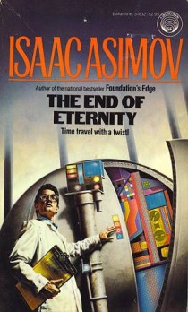 The Isaac Asimov book The End of Eternity was first published in 1955