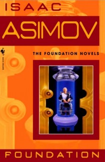Cover for Isaac Asimov novel Foundation