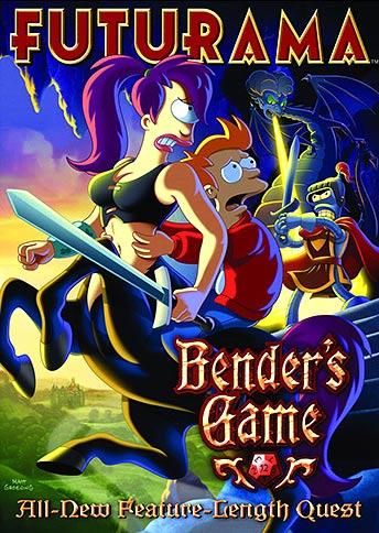 Futurama: Bender's Game DVD review