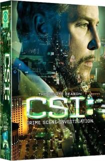 CSI Season Eight Crime Scene Investigation DVD box cover